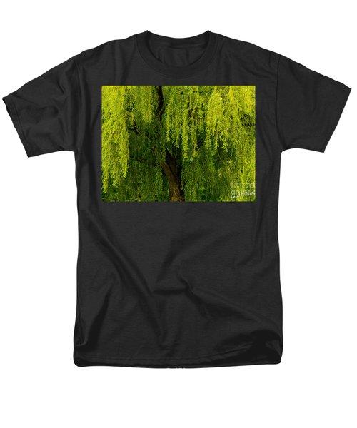 Enchanting Weeping Willow Tree  Men's T-Shirt  (Regular Fit) by Carol F Austin