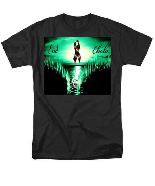 Men's T-Shirt  (Regular Fit) featuring the photograph End Ebola by Eddie Eastwood