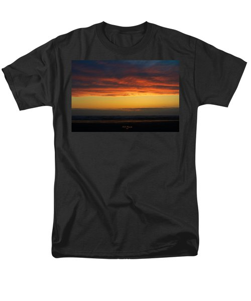 End Of A Perfect Day Men's T-Shirt  (Regular Fit) by Jeanette C Landstrom