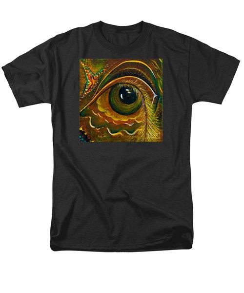 Men's T-Shirt  (Regular Fit) featuring the painting Enigma Spirit Eye by Deborha Kerr