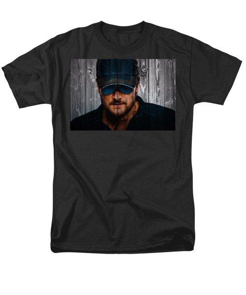 Eric Church Men's T-Shirt  (Regular Fit) by Dan Sproul