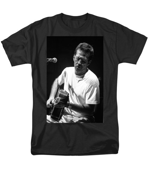 Eric Clapton 003 Men's T-Shirt  (Regular Fit) by Timothy Bischoff