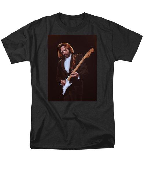 Eric Clapton Painting Men's T-Shirt  (Regular Fit) by Paul Meijering