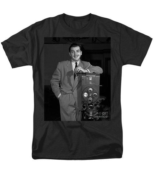 Ernie Kovacs 1957 Men's T-Shirt  (Regular Fit) by Martin Konopacki Restoration