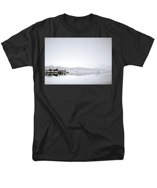Ethereal Mono Lake Men's T-Shirt  (Regular Fit) by Shaun Higson