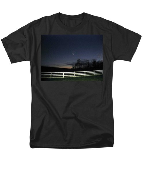 Evening In Horse Country Men's T-Shirt  (Regular Fit) by Judith Morris