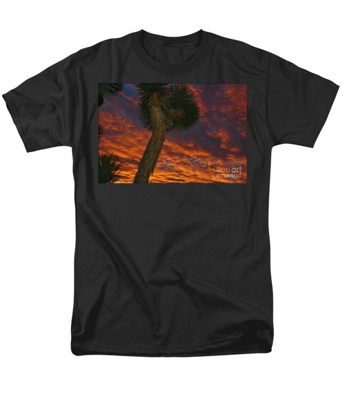 Evening Red Event Men's T-Shirt  (Regular Fit) by Angela J Wright