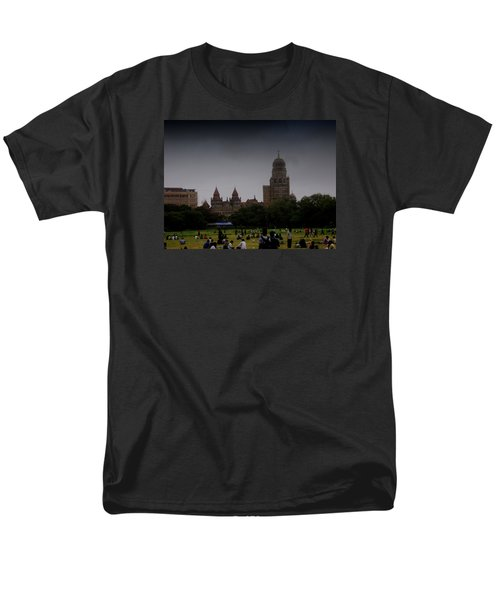 Men's T-Shirt  (Regular Fit) featuring the photograph Evening by Salman Ravish
