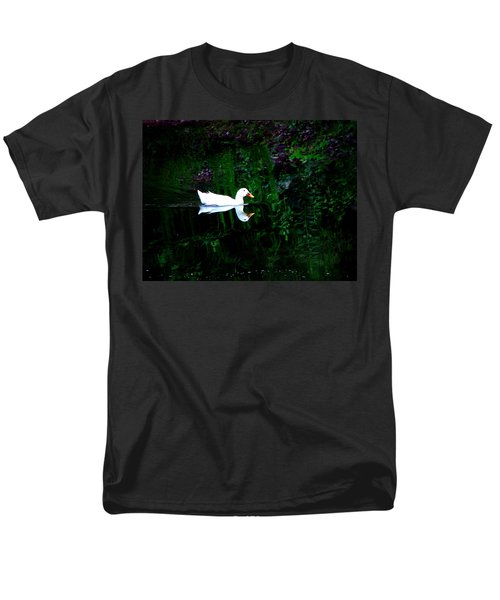 Men's T-Shirt  (Regular Fit) featuring the photograph Evening Swim by Greg Simmons