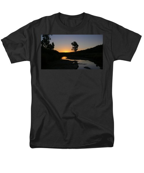 Men's T-Shirt  (Regular Fit) featuring the photograph Evening Wonderland by Evelyn Tambour