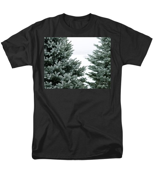 Evergreens Men's T-Shirt  (Regular Fit) by Debbie Hart
