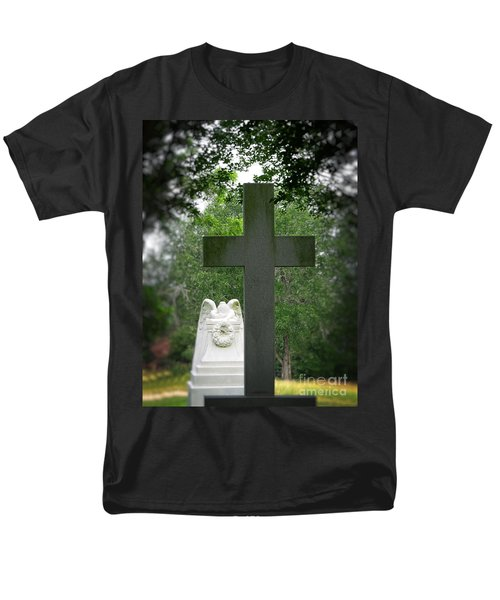 Men's T-Shirt  (Regular Fit) featuring the painting Every Knee Shall Bow by Ella Kaye Dickey