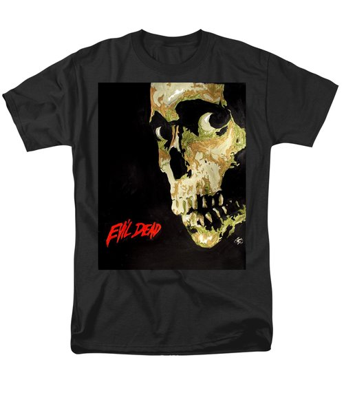 Evil Dead Skull Men's T-Shirt  (Regular Fit) by Marisela Mungia