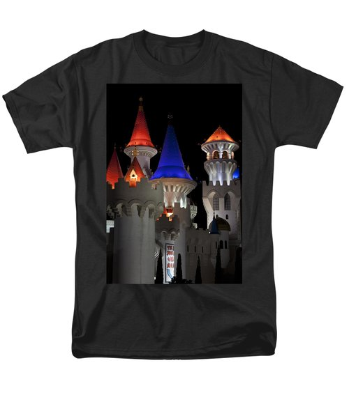 Excalibur Casino After Midnight Men's T-Shirt  (Regular Fit) by Ivete Basso Photography