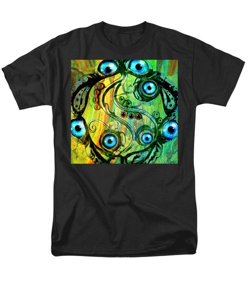 Eye Understand Men's T-Shirt  (Regular Fit) by Ally  White
