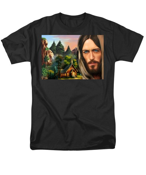 Eyes Of Love And Compassion 2 Men's T-Shirt  (Regular Fit)