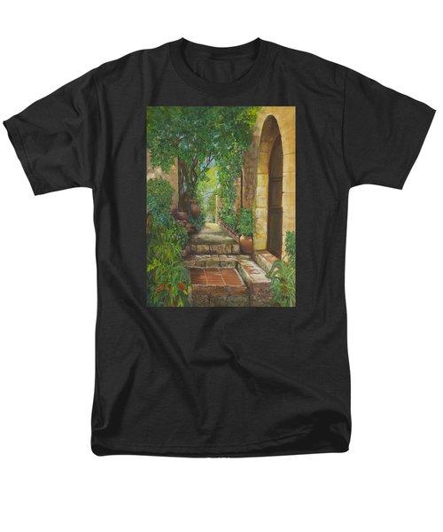 Eze Village Men's T-Shirt  (Regular Fit) by Alika Kumar