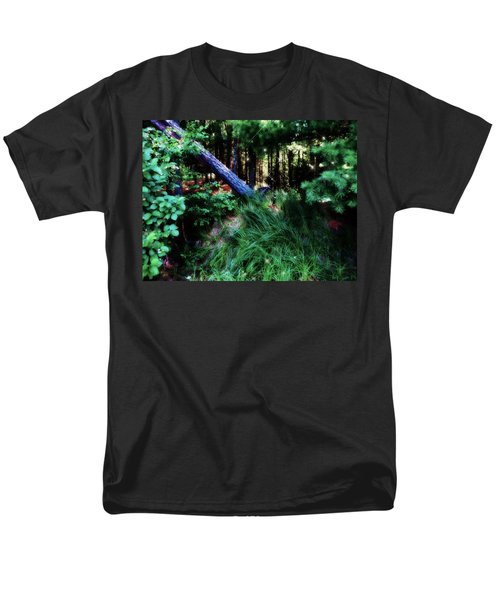 Men's T-Shirt  (Regular Fit) featuring the photograph Fairy Forest by Jamie Lynn