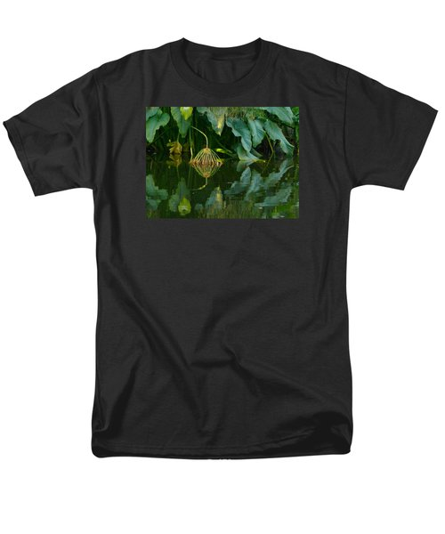 Men's T-Shirt  (Regular Fit) featuring the photograph Fairy Pond by Evelyn Tambour