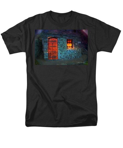 Fairy Tale Cabin Men's T-Shirt  (Regular Fit) by Gunter Nezhoda