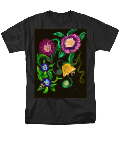 Fairy Tale Flowers Men's T-Shirt  (Regular Fit)