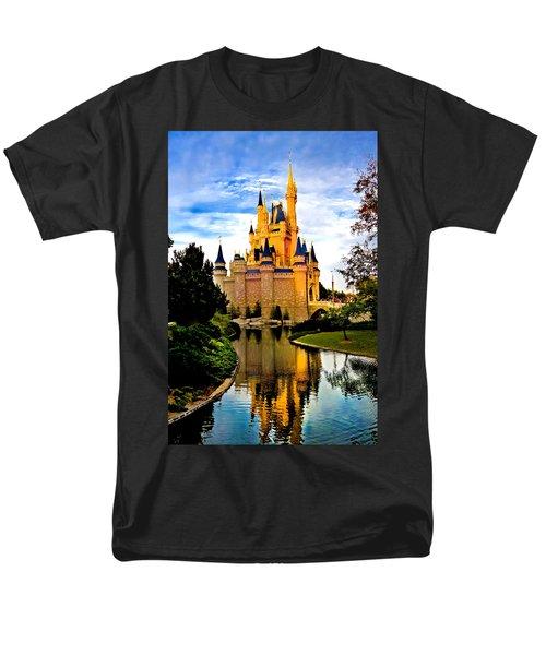 Fairy Tale Twilight Men's T-Shirt  (Regular Fit) by Greg Fortier