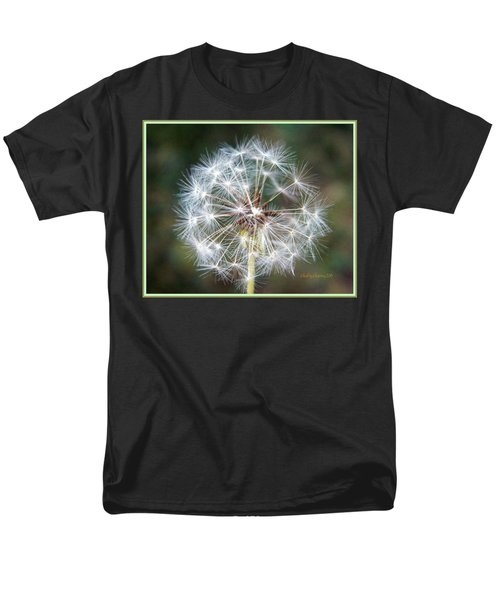 Men's T-Shirt  (Regular Fit) featuring the photograph Fairy Umbrellas by Kathy Barney