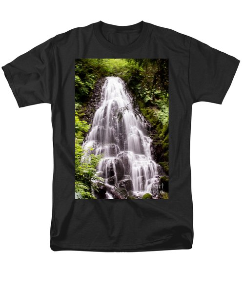 Men's T-Shirt  (Regular Fit) featuring the photograph Fairy's Playground by Suzanne Luft