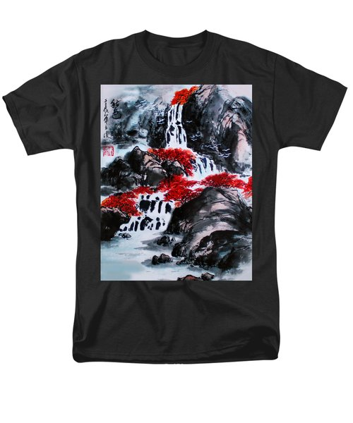 Men's T-Shirt  (Regular Fit) featuring the photograph Fall Colors by Yufeng Wang