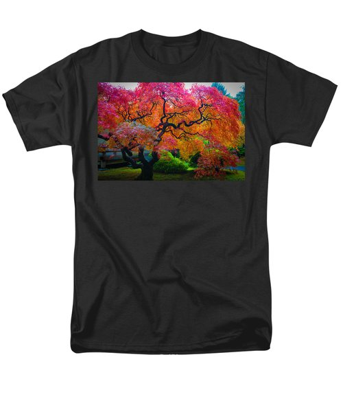 Fall Crowning Glory  Men's T-Shirt  (Regular Fit) by Patricia Babbitt
