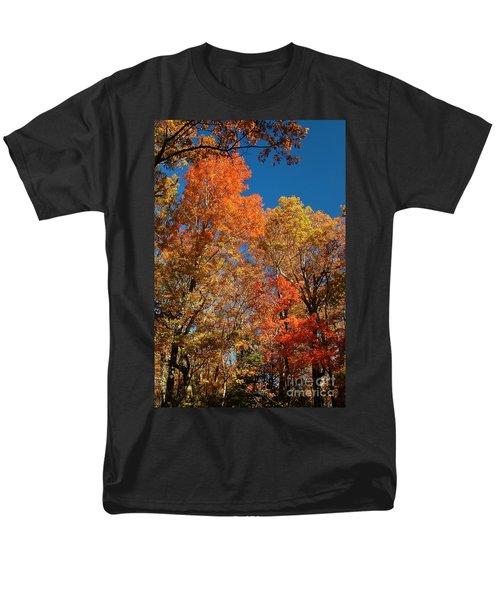 Men's T-Shirt  (Regular Fit) featuring the photograph Fall Foliage by Patrick Shupert