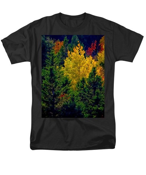 Fall Leaves Men's T-Shirt  (Regular Fit) by Bill Howard