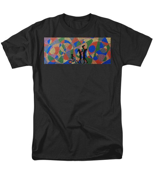 Family I Men's T-Shirt  (Regular Fit) by Kruti Shah