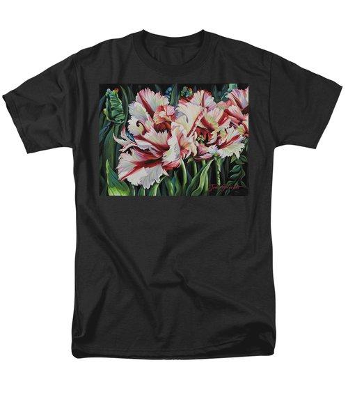 Fancy Parrot Tulips Men's T-Shirt  (Regular Fit)