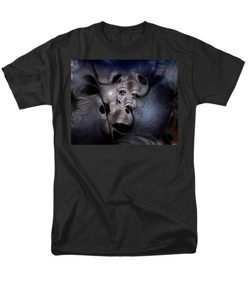 Men's T-Shirt  (Regular Fit) featuring the digital art Farmaceutical Future by Casey Kotas