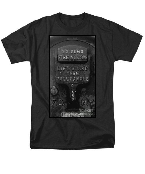 Men's T-Shirt  (Regular Fit) featuring the photograph Fdny - Alarm by James Aiken