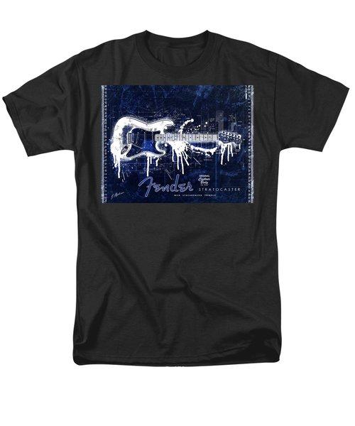 Fender Blueprint Washout Men's T-Shirt  (Regular Fit) by Gary Bodnar