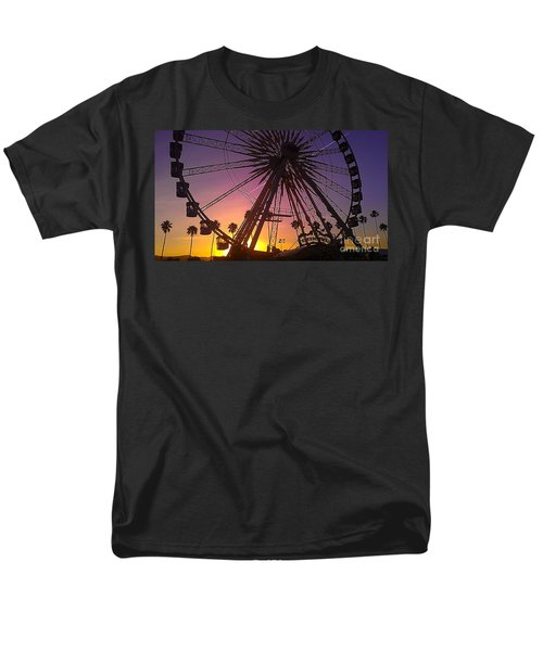 Ferris Wheel Men's T-Shirt  (Regular Fit) by Chris Tarpening