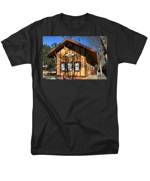 Men's T-Shirt  (Regular Fit) featuring the photograph Fillmore Station by Michael Gordon