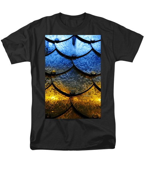 Men's T-Shirt  (Regular Fit) featuring the photograph Fire And Ice by Skip Hunt
