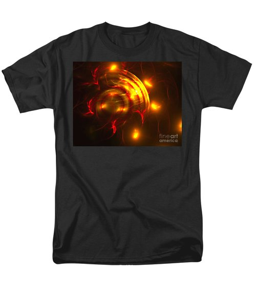 Fire Storm Men's T-Shirt  (Regular Fit) by Victoria Harrington