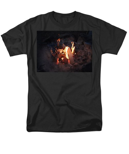 Fireside Seat Men's T-Shirt  (Regular Fit) by Michael Porchik