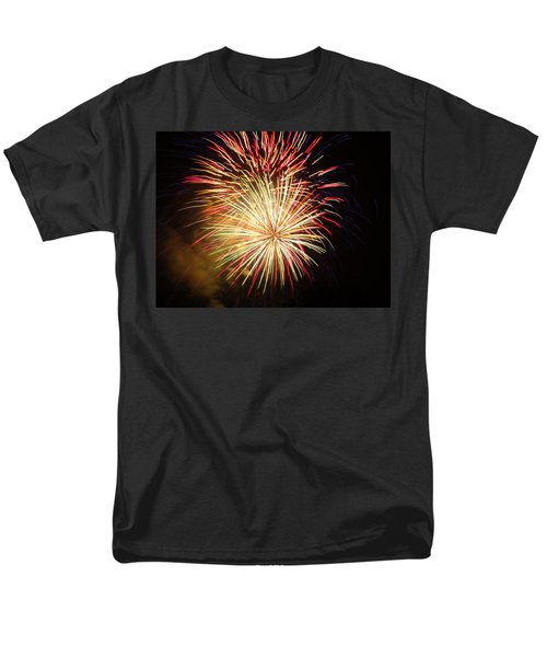 Fireworks Over Chesterbrook Men's T-Shirt  (Regular Fit) by Michael Porchik