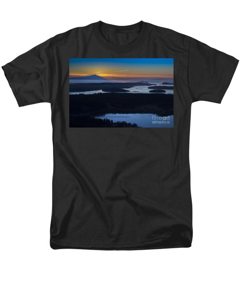 First Light Men's T-Shirt  (Regular Fit) by Sonya Lang