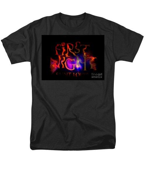 First Night Sign 2 Men's T-Shirt  (Regular Fit)