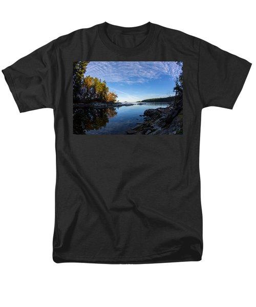 Fish Eye View Men's T-Shirt  (Regular Fit) by Randy Hall