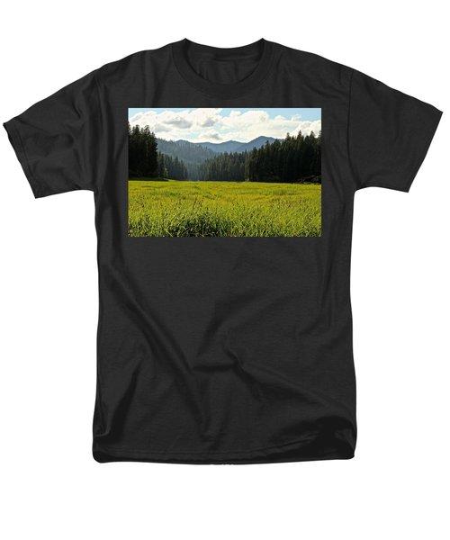 Fish Lake - Open Field Men's T-Shirt  (Regular Fit) by Laddie Halupa