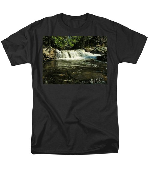 Men's T-Shirt  (Regular Fit) featuring the photograph Fishing Hole by Sherman Perry