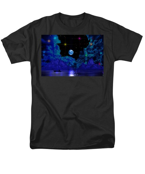 Men's T-Shirt  (Regular Fit) featuring the photograph Fishing by Mark Blauhoefer