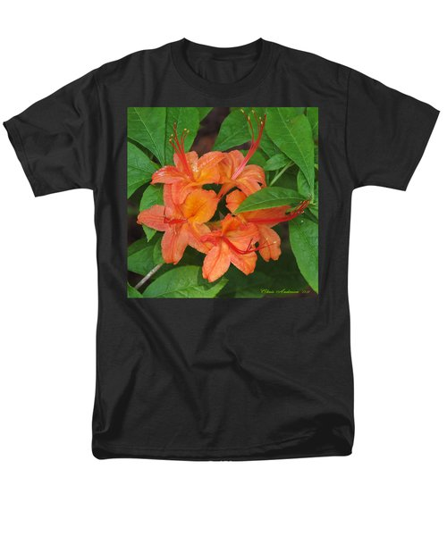 Men's T-Shirt  (Regular Fit) featuring the photograph Flame Azalea by Chris Anderson